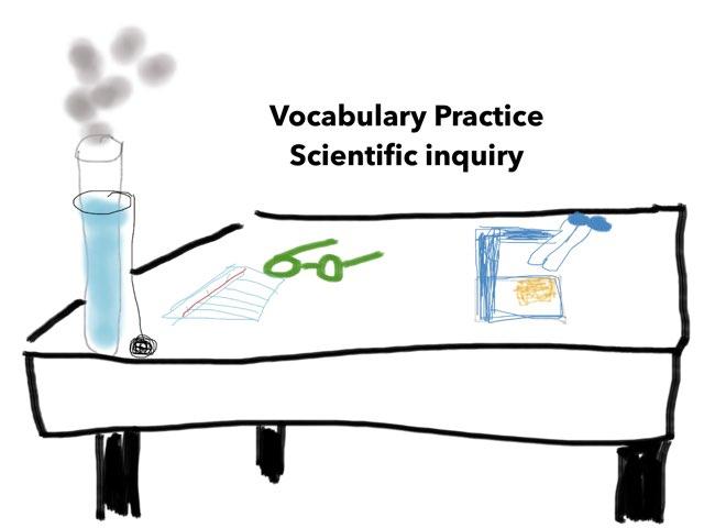 Vocabulary Scientific Inquiry  by Wendy Warfi