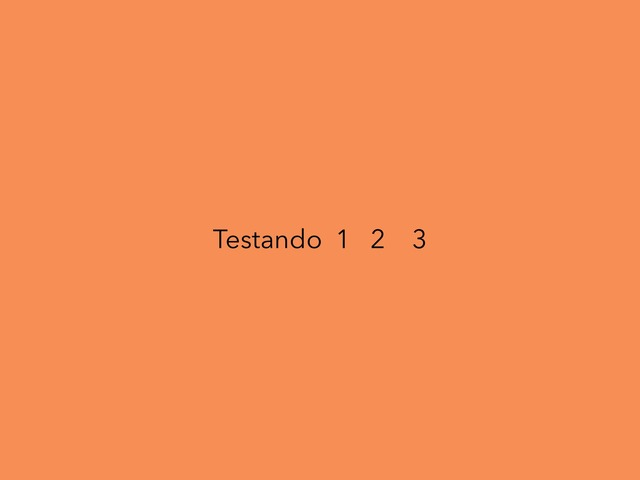 Teste by Fernanda Alves de Souza