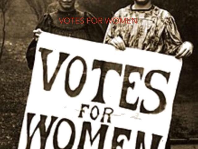Votes For Women By Angelina Masser by Childer Thornton