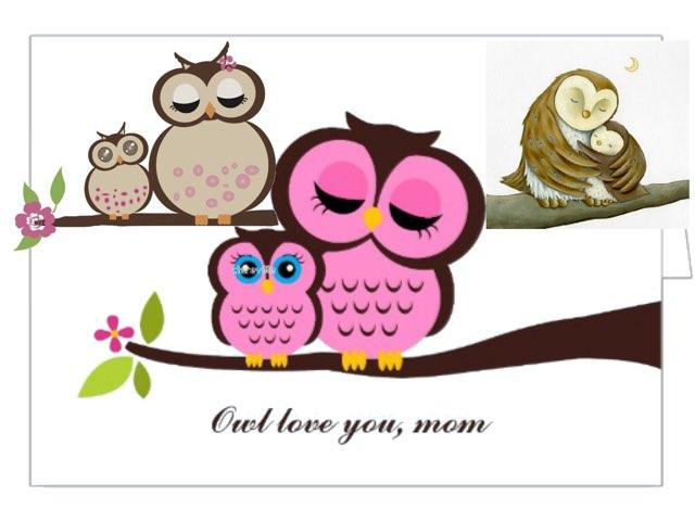 Mommy & Baby Owl by Elleita Owl