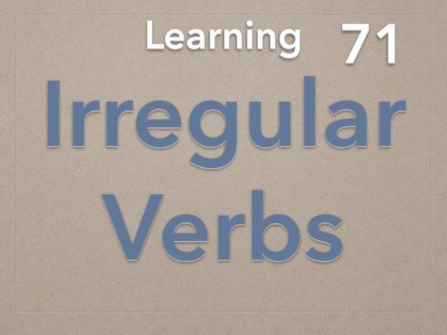 Irregular Verbs by Elysia Edu