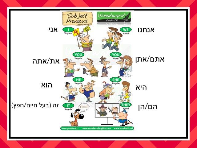 Pronouns by Sarah Yom Tov