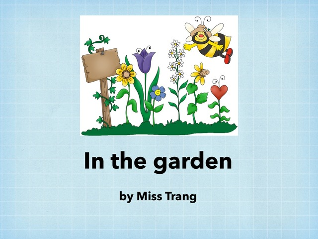 In The Garden by Trang Quỳnh