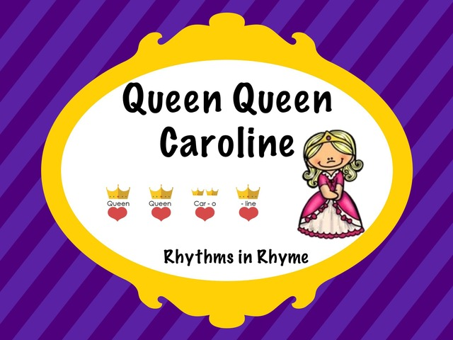 Queen Queen Caroline Rhythm Game by A. DePasquale