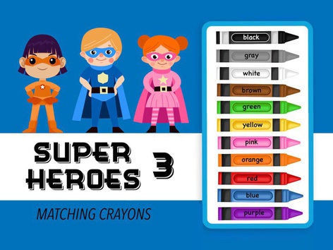 Super Heroes 3 - Matching by Cici Lampe