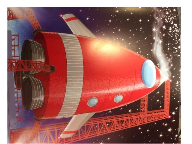 Rocket Jigsaw by Samantha Parker