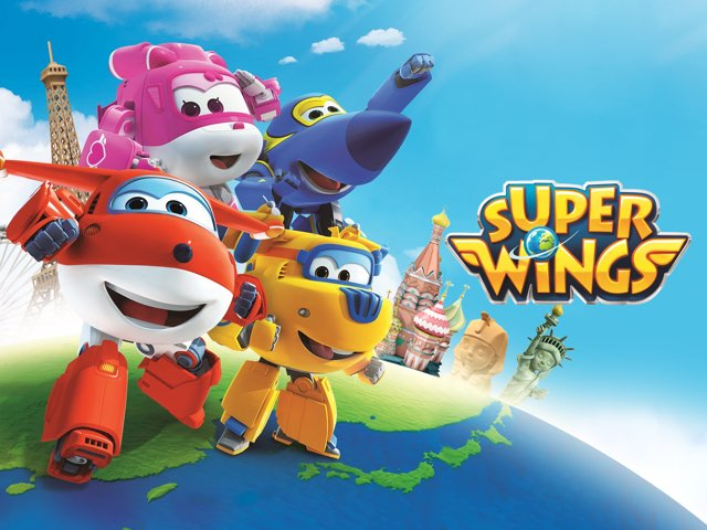 Super Wings - A Package To India by Kids Tube