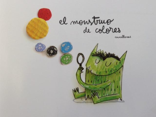 Monstruo De Colores by Marina Rosón