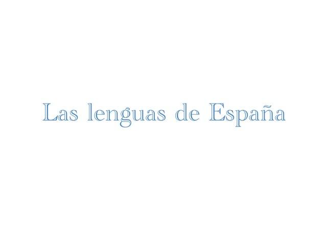 Les Lenguas de España by Andrea Míguez