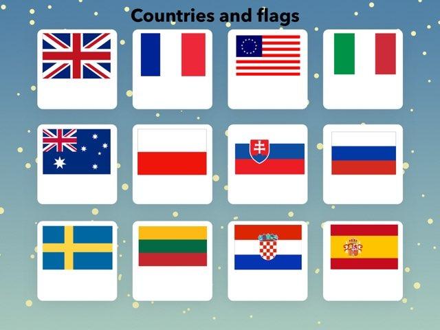 Gabytės  Countries And Nationalities by Penktokai VPG