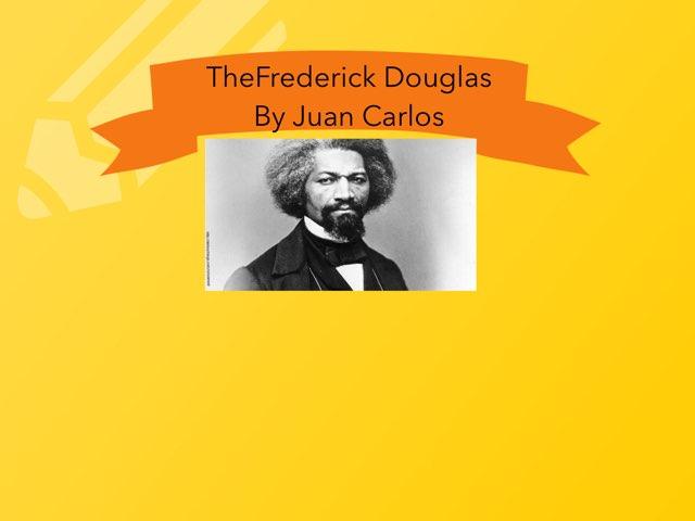 Frederick Douglass By Journie by Christine Snow