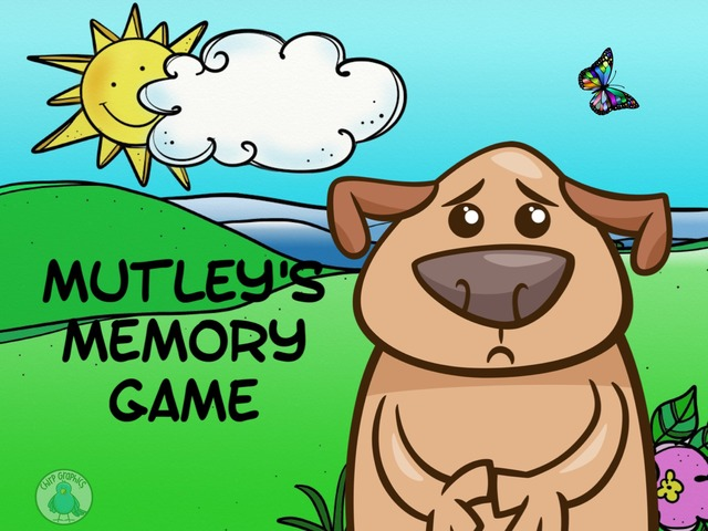 Mutley's Memory Game by Ellen Weber