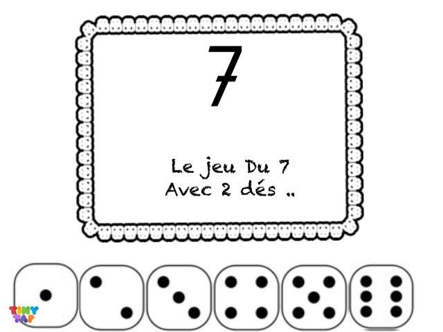 Jeu Du 7  by Marie S