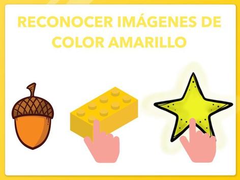 RECONOCER IMÁGENES DE COLOR AMARILLO by Jose Sanchez Ureña