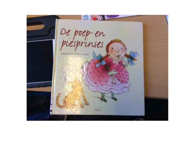 De Poep En Pies Prinses by Chantal Voordes