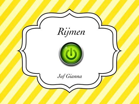 Rijmen by Gianna