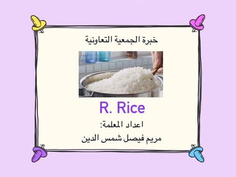 R. Rice by Mariam Shamsaldeen