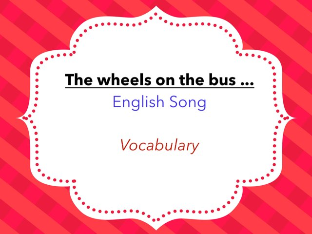 The Wheels On The Bus by Cyrielle Montader