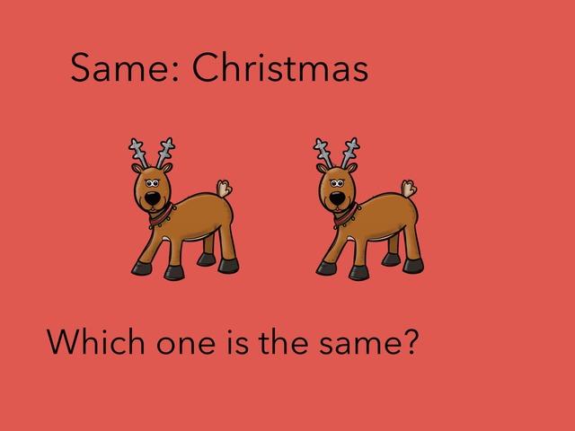 Same: Christmas  by Carol Smith