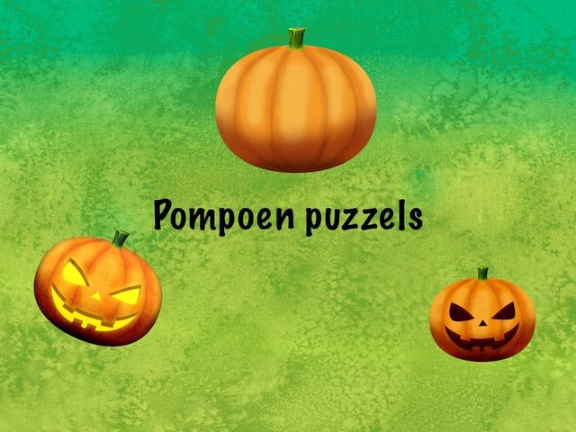 Pompoen Puzzels by Juf kim Giraf