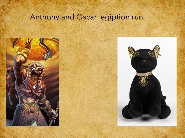 Egypt By Anthon And Oscar by St Cecilias