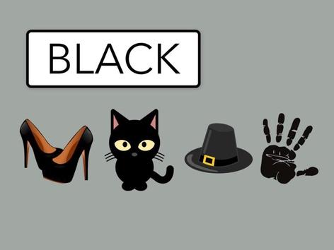 Colours: Black #1(EN UK) by Carol Smith