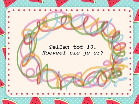 Tellen tot 10 by Elise Coppens