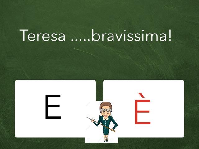 Congiunzione O Verbo Essere ? by Rosalino Rinaldi