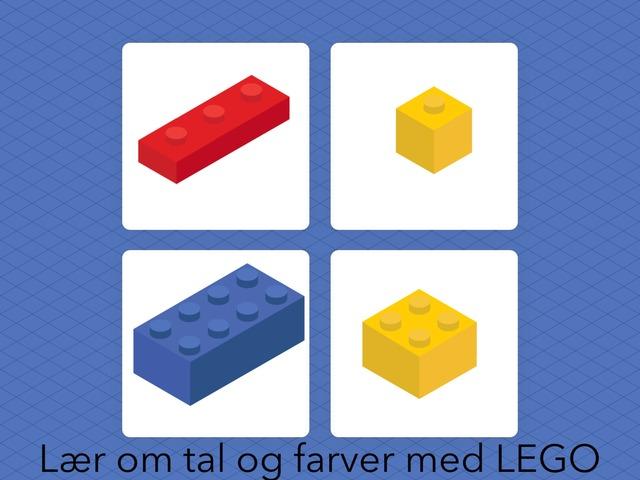 Tal Og Farver Med LEGO by Helle Melin