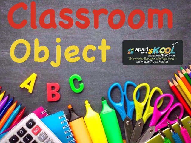 Class Room Objects by TinyTap creator