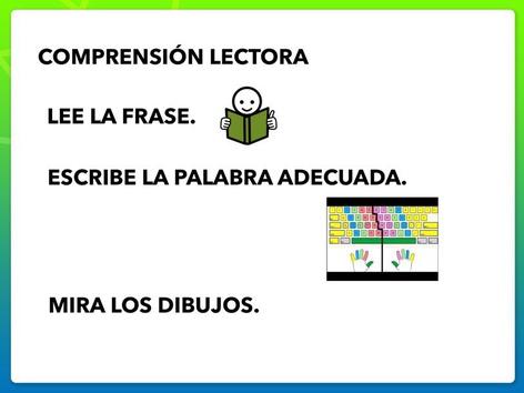 Comprensión Lectora: Frases by Francisca Sánchez Martínez