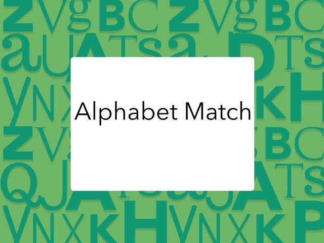 DPISD ELEM PWE-Alphabet Match  by Cynthia Ramirez