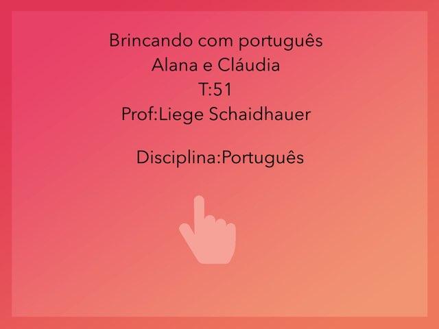 Alana E Cláudia  by Rede Caminho do Saber