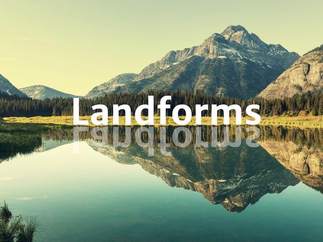 Landforms by Ascension Kindergarten