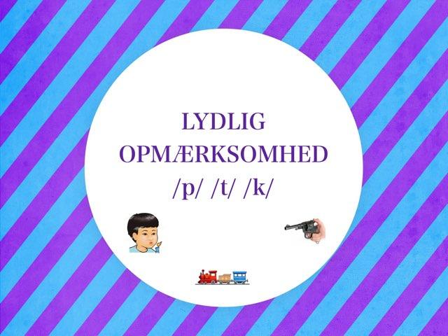 Lydlig Opmærksomhed - Aspirerede Lukkelyde by Line Poulsen
