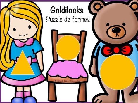 Goldilocks- Puzzle de formes by Yara Habanbou