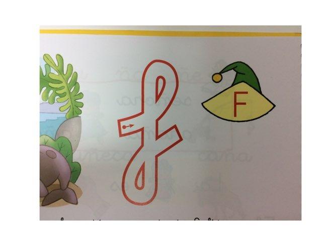 La letra F by Material Pictos