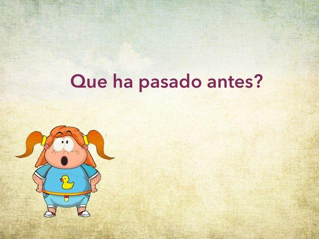 Que Ha Pasado Antes? by Marina Romero