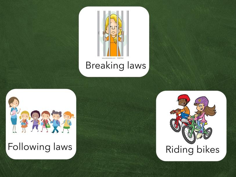 Test for Laws for Kids RAZ Level G by Cindy Derienzo