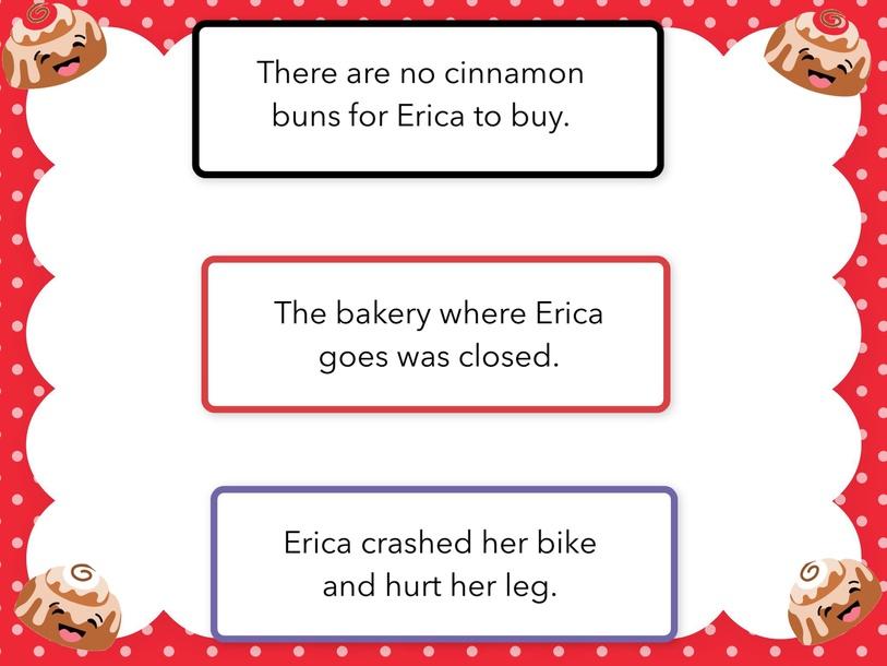 The Cinnamon Bun Mystery test by Cindy Derienzo