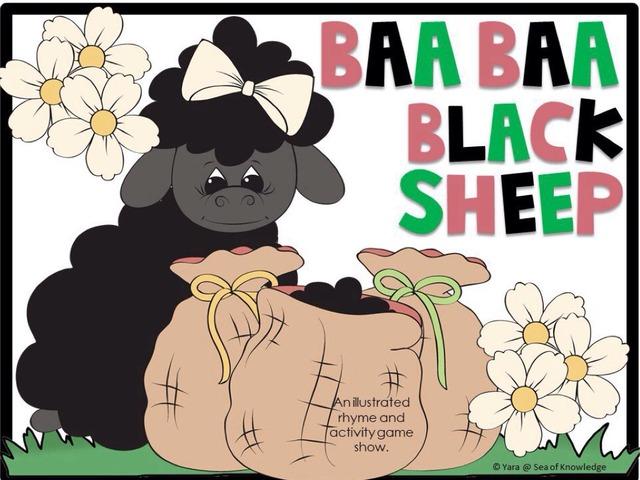 Baa Baa Black Sheep Rhyme Game Show by Yara Habanbou