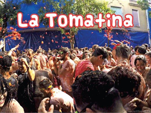 La Tomatina by Lily Lamb