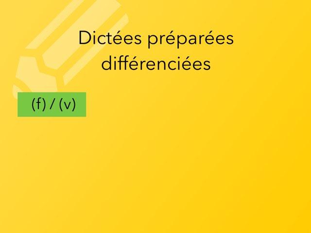 Dictées Différenciées by Becquet Maxime