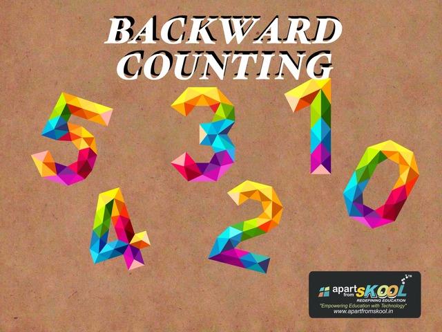 Backward Counting by TinyTap creator