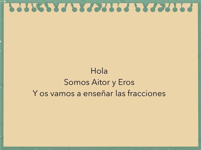 Fracción  by Eros Sapiña Renard