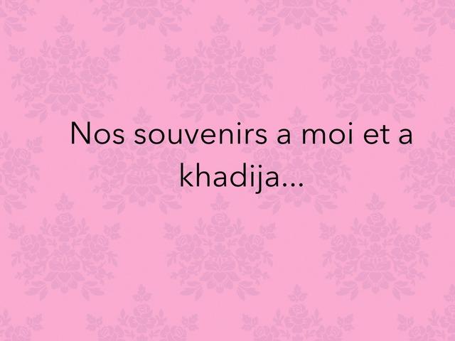 Je T'aime Ma Khadija D'amour  by Lin