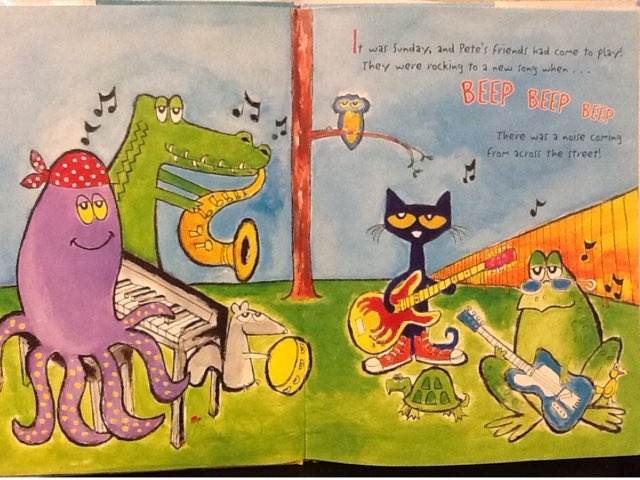 Pete The cat And The New Kid by Janelle Kinman