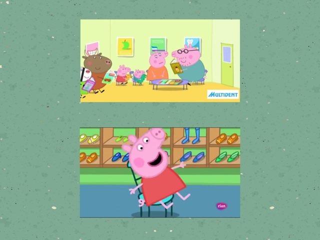 Peppa va al dentista by Rosalia Quiroga
