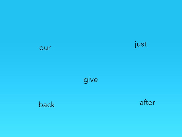 Fry Words 111-120 by Jacqueline Johnson