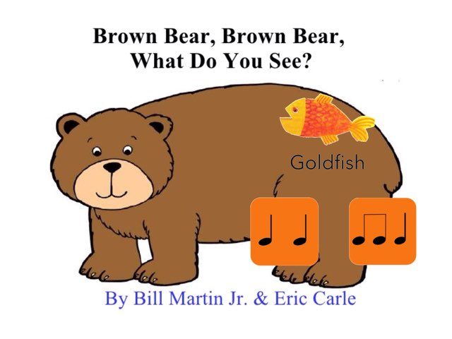 Brown Bear Rhythm Matching by A. DePasquale